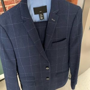 Other - H&M windowpane wool blend suit